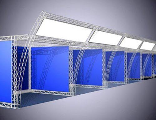 داربست اسپیس فریم ( سازه های فضا کار )